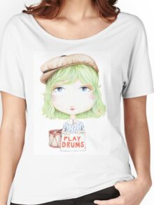 Play Drums Women's Relaxed Fit T-Shirt