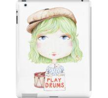 Play Drums iPad Case/Skin