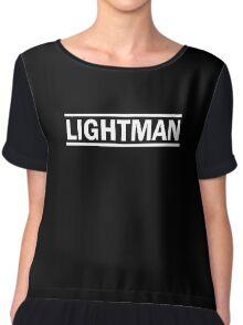 Lightman white Chiffon Top