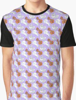 Foxy Puffs Graphic T-Shirt