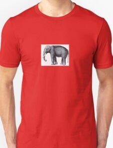 Elephant sketch Unisex T-Shirt