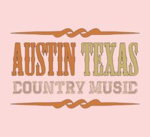 Austin Texas Country music One Piece - Short Sleeve