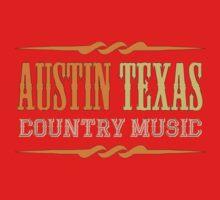 Austin Texas Country music One Piece - Short Sleeve