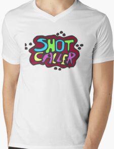 Shot Caller Mens V-Neck T-Shirt