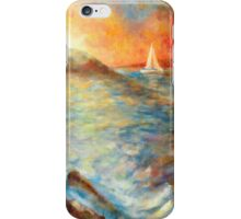 Sunset Over The Sea iPhone Case/Skin