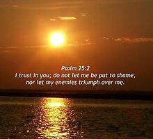 """Psalm 25:2 by Scott """"Bubba"""" Brookshire"""