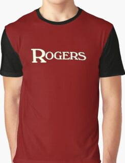 Rogers drums white Graphic T-Shirt