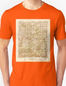 USGS TOPO Map Arkansas AR Sandtown 259951 1943 31680 Unisex T-Shirt