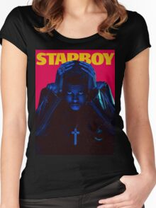 Starboy Women's Fitted Scoop T-Shirt