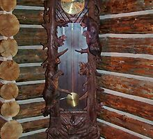 Grandfather Clock with a Difference by AnnDixon