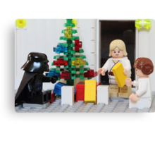 Skywalker Family Christmas Canvas Print