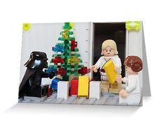 Skywalker Family Christmas Greeting Card