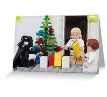 Skywalker Family Christmas Greeting Card