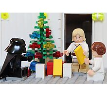 Skywalker Family Christmas Photographic Print