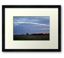 Lincolnshire Landscape Framed Print