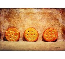 Gone Crackers Photographic Print
