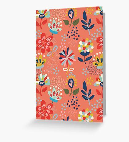 Wild Flowers Greeting Card