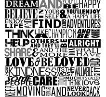 Random Funky Words by papabuju