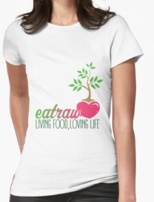 Raw Eating Womens Fitted T-Shirt