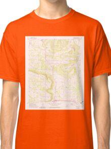 USGS TOPO Map Arkansas AR Moreland 259124 1962 24000 Classic T-Shirt