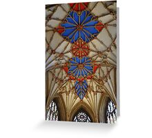 Twekesbury Abbey Greeting Card