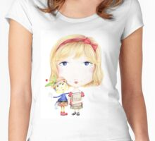 My Imaginary Friend Women's Fitted Scoop T-Shirt