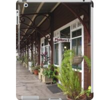 Railway Platform Historic Station at Gympie, Queensland. iPad Case/Skin