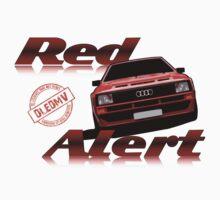 DLEDMV - Red Alert Kids Tee