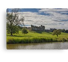 Alnwick Castle Canvas Print