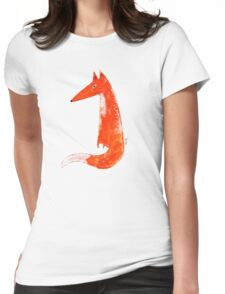 Just a Fox Womens Fitted T-Shirt
