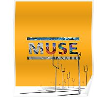 Muse Albums Logo Poster
