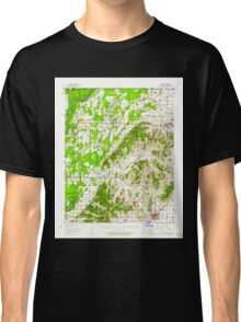 USGS TOPO Map Arkansas AR Rector 260271 1958 62500 Classic T-Shirt