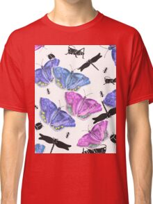 Beetles, bugs and butterflies Classic T-Shirt