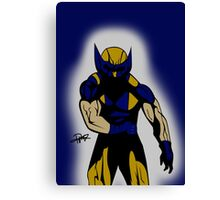 Wolverine Pose Canvas Print