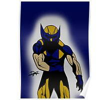Wolverine Pose Poster
