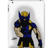 Wolverine Pose iPad Case/Skin