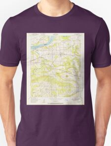 USGS TOPO Map Arkansas AR Lavaca 258903 1951 24000 Unisex T-Shirt