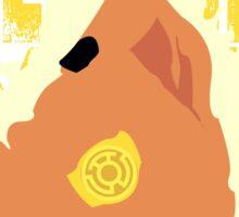 Sinestro's Might Sticker
