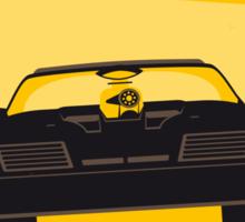 No051 My Mad Max minimal movie poster Sticker