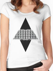 The M Machine Virtual M Vector Women's Fitted Scoop T-Shirt