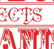 spanish inquisition | cult tv Sticker
