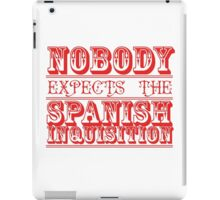 spanish inquisition | cult tv iPad Case/Skin