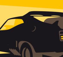 No051 My Mad Max 2 Road Warrior minimal movie poster Sticker