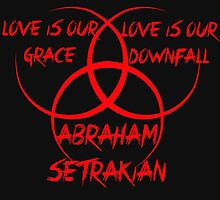 The STRAIN - Love is our grace, Love is our downfall (RED) by WiseOut