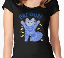 Blue Cat 'Far Out' Women's Fitted Scoop T-Shirt