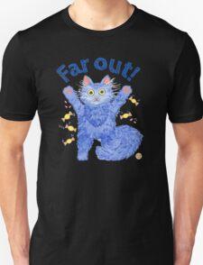 Blue Cat 'Far Out' Unisex T-Shirt