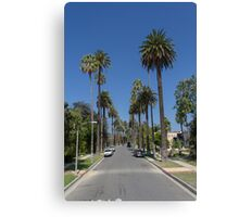 LA Palm Trees Canvas Print