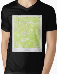 USGS TOPO Map Arkansas AR Mt Holly 259176 1962 24000 Mens V-Neck T-Shirt