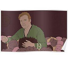 Jim Has Plenty of Tribbles Poster
