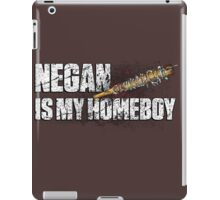 NEGAN IS MY HOMEBOY / bloody barbed wire baseball bat iPad Case/Skin